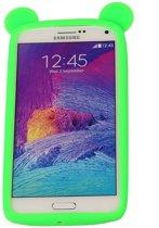 Groen Bumper Beer Medium Frame Case Hoesje voor Samsung Galaxy A7 2017