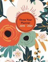 Three Year Planner 2019 - 2021 Ugo