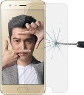 Let op type!! 2 stuks voor Huawei Honor 9 0 26 mm 9H oppervlaktehardheid 2.5D gebogen rand gehard glas Screen Protector