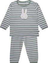 Nijntje unisex pyjama, grijsgroen - maat 62/68