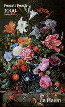 Vaas met Bloemen - Jan de Heem (Mauritshuis) (1000)