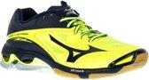 Mizuno Wave Lightning Z2  Sportschoenen - Maat 50 - Unisex - blauw/geel