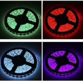 5050 SMD Waterproof RGB LED Strip with 44 Keys RGB LED Light Controller  60LED/M and Length: 5m