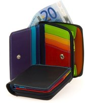 e1cf24372d5 Mywalit Small Wallet Zip Around Purse Ritsportemonnee Black Pace MYW-226-4-N