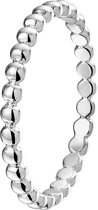 The Kids Jewelry Collection Ring Bolletjes - Zilver Gerhodineerd