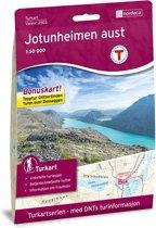 Nordeca Wandelkaart Noorwegen/Turkart Jotunheimen Aust 1:50.000 (2016)