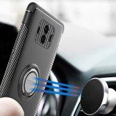 Let op type!! MOFI voor mysterieuze serie Huawei Mate 10 schokbestendige beschermende achtercover hoes met magnetische draaibare ringhouder (zwart)