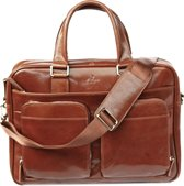 Top Grain Leather Business Laptop Briefcase (8820 CG)