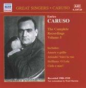 Caruso: Compl.Recordings.Vol.5