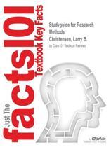 Studyguide for Research Methods by Christensen, Larry B., ISBN 9780205970582