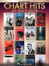 Chart Hits Of 2017-2018 (Big Note Songbook)
