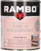 Rambo pantserbeits tuin- & steigerhout vintage Roze 750 ml