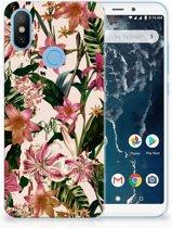 Xiaomi Mi A2 Uniek TPU Hoesje Flowers