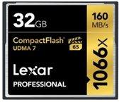 Lexar Professional UDMA7 CompactFlash kaart 32GB 1066x