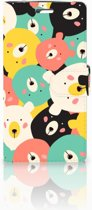 LG K10 2015 Uniek Boekhoesje Bears