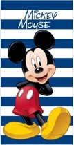 Badlaken Mickey Mouse blauw 70 x 140 cm