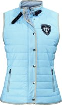 HV Polo Bodywarmer Parsley − Soft Blue − mt L