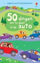 50 dingen maken in de auto