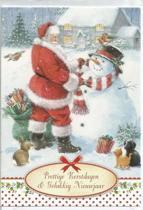 Kerstkaarten nr. 76  10 stuks