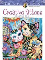 Creative Haven Creative Kittens Coloring Book
