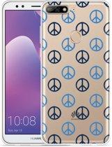 Huawei Y7 2018 Hoesje Peace