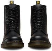 Dr. Martens 1460 Smooth Black - Zwart/Geel - Laarzen - Unisex - Maat 40
