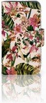 iPhone 4 | 4S Uniek Boekhoesje Flowers