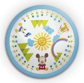 Disney's Mickey Mouse Donald en Pluto Plafondlamp – 24x24x6cm | Verlichting voor in de Kinderslaapkamer