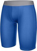 Thermo onderbroek - Thermo sportbroek - Blauw maat S