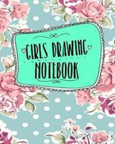 Girls Drawing Notebook