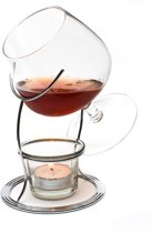 Brandy Cognac Snifter Warmer Glass