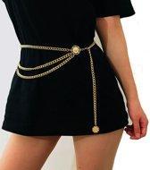Gouden chain belt