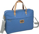 Nomad Urban Canvas - Laptoptas - Blauw