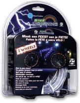 Wheely Bright Bike Lightning Blauw 2 stuks