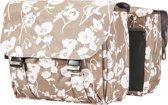 Basil Elegance Double Bag Dubbele Fietstas - 32 l - Taupe