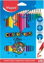 Color'peps kleurpotlood x 18
