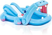 Intex Speelzwembad Hippo - 221x188x86cm