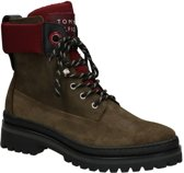 Tommy Hilfiger Sporty Outdoor Kaki Boots  Dames 38