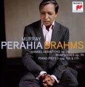Brahms: Handel Variations, Rhapsodies / Perahia