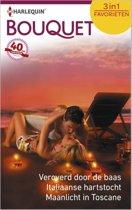 Veroverd door de baas / Italiaanse hartstocht / Maanlicht in Toscane - Bouquet Favorieten 450, 3-in-1