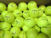 Golfballen gebruikt/lakeballs Titleist nxt tour S optic Yellow AAAA/geel Klasse 50 stuks.