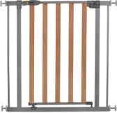 Hauck Wood Lock Safety Gate - Traphekje (75 - 81 cm) - Silver