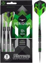 Harrows Veridian 90% 25 gram Steeltip Dartpijlen