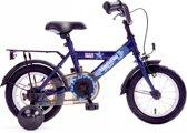 Kinderfiets Bike Fun Camouflage 12 inch blauw