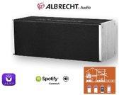 Albrecht MAX-Sound 900 S 14 W Draadloze stereoluidspreker Zwart