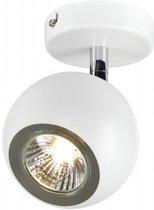 SLV LIGHT EYE GU10 wand en plafondlamp Spotlamp 1x50W Chroom Wit 149061