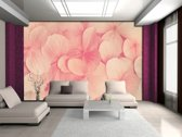 Pink   Crème Photomural, wallcovering