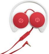HP H2800 Stereofonisch Rood, Wit hoofdtelefoon