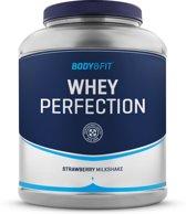 Body & Fit Whey Perfection - Eiwitpoeder / Eiwitshake - 2270 gram - Lemon Ice milkshake