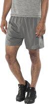 """inov-8 Race Elite 5"""" Hardloop Shorts Heren, dark grey Maat S"""